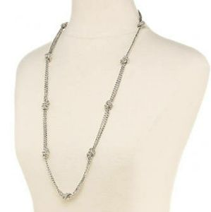 RALPH LAUREN Back to Basics Gold Knotted Necklace